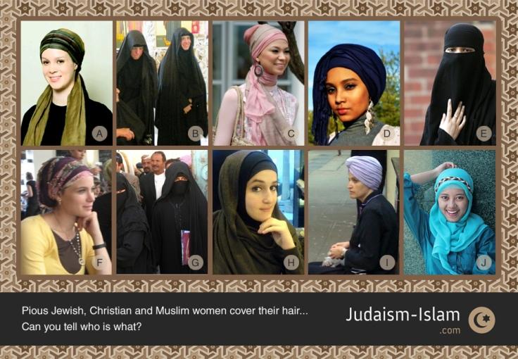 hijab-judaism-islam-hair-covering